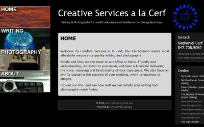 Creative Services a la Cerf, Nathaniel Cerf